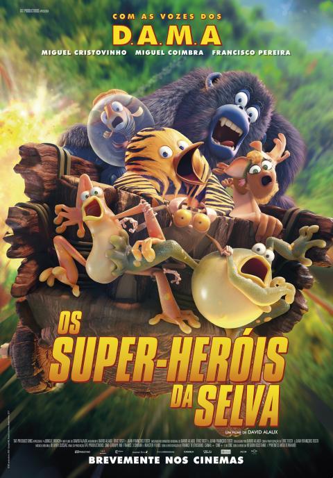 Os Super-Heróis da Selva VP
