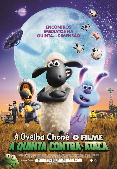A Ovelha Choné - O Filme: A Quinta Contra-Ataca